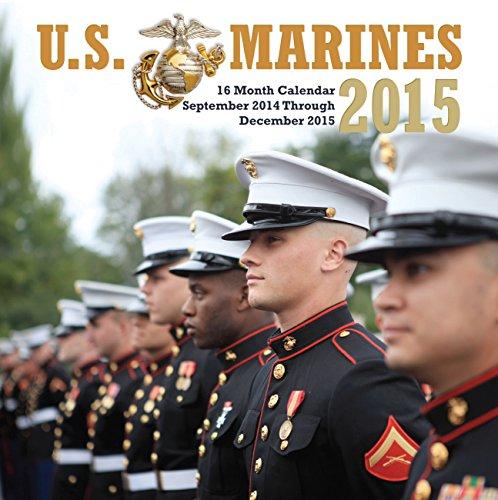 U.S. Marines 2015 Mini: 16-Month Calendar September 2014 through December 2015