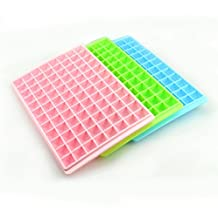 Purewill 96 Squares Ice Mould For Water Party Creative Cool Ice Cube Freeze Mold Making Dishwasher Safe Tray Random Colors
