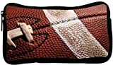 Rikki Knight American Football Close-Up Design Neoprene Pencil Case