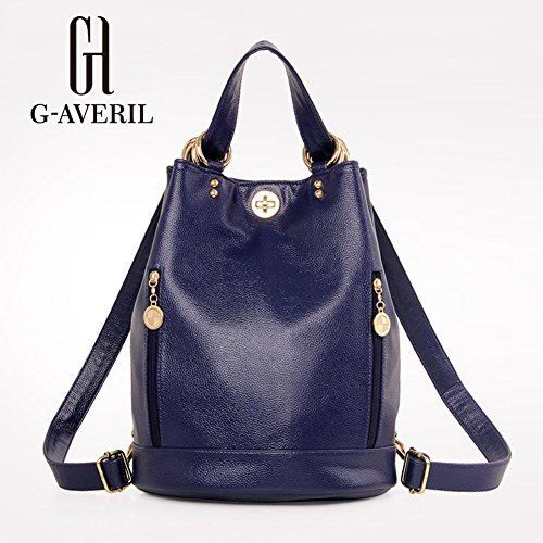 averil s Woman Blue Backpack Blue Ga1082 G Blue Bag AF1qC1w