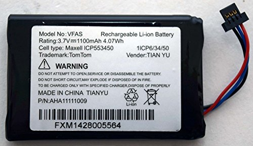 Tomtom OEM GPS Replacement Battery for Go 60 Series Model VFAS P/N AHA11110009