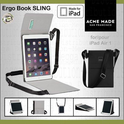 Acme Made Ergo - Bolsa de transporte de tipo mensajero para iPad Air 1 de Apple AMEB-SLING-AIR1