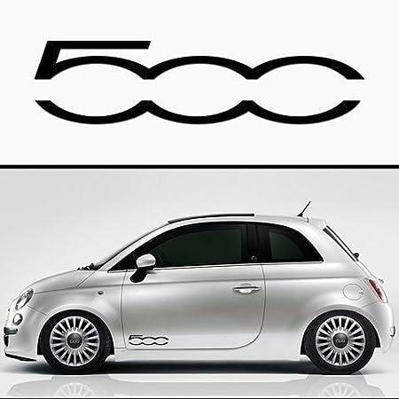 2x Fiat 500 500 Seitenstreifen Aufkleber Autoaufkleber Sticker Auto
