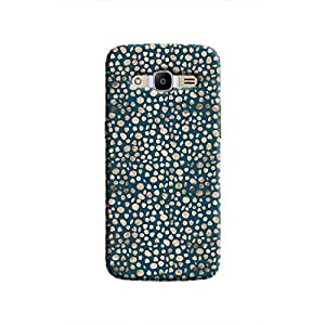 Cover It Up - Brown Navy Pebbles Mosaic Galaxy J2 2016 Hard Case