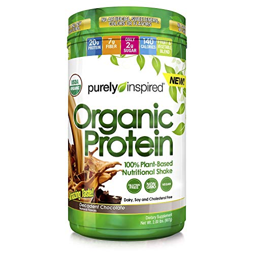 Purely Inspired Organic Protein 100 Plant-Based Nutritional Shake 2 Lbs.