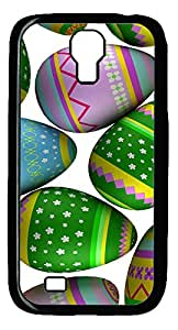 Samsung S4 Case Colorful Easter Eggs 3 PC Custom Samsung S4 Case Cover Black