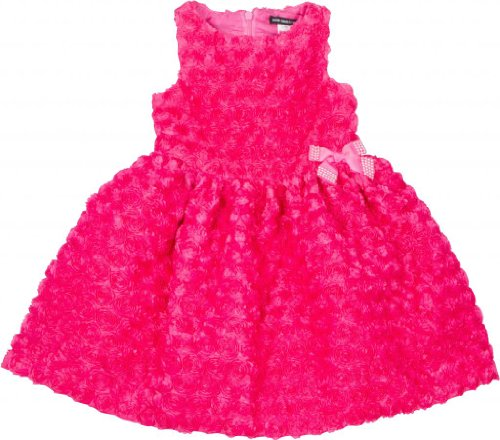 David Charles Of London Party Dress With Jeweled Bow 4 YR (Fuschia Jeweled Dress)