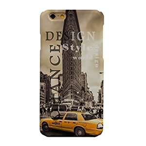 Generic Case For Iphone 5/5S Cover Case Manhattan New York City NYC Flatiron Building