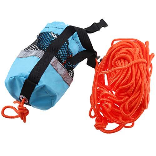 Homyl Blue 102ft Rescue Emergency Drowning Bag Line Rope Saver Swiming Throw Bag by Homyl (Image #7)