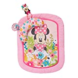 Disney Baby Minnie Mouse Garden Party Tummy Time Prop Mat, Ages Newborn +