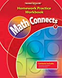 img - for Math Connects, Grade 1, Homework Practice Workbook (ELEMENTARY MATH CONNECTS) book / textbook / text book