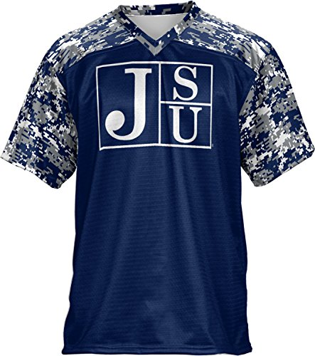 Football State Jackson (ProSphere Jackson State University Men's Football Fan Jersey - Digital FCF41)