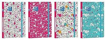 Oxford – 1 agenda, diseño de flores, compatible con ...
