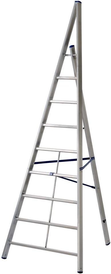 Gierre M126495 - Escalera aluminio trittika 8 peldaños - al510: Amazon.es: Bricolaje y herramientas