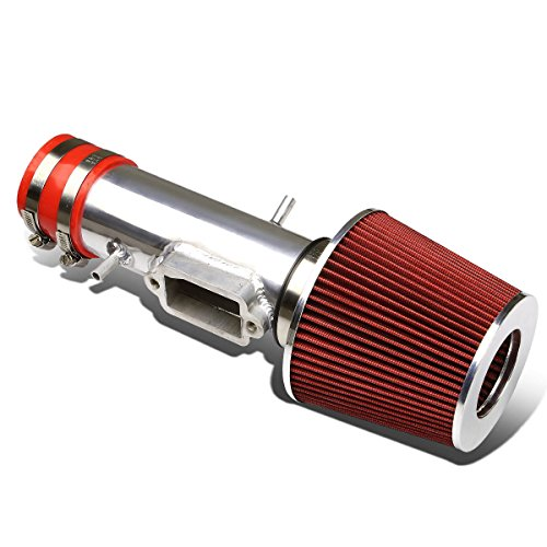 For Camry/Solara V6 Aluminum Intake Induction Pipe+Red Air Filter