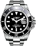 Best Dive Watches For Men - Men's GMT Stainless Steel Sapphire Automatic Mechanical Watch Review