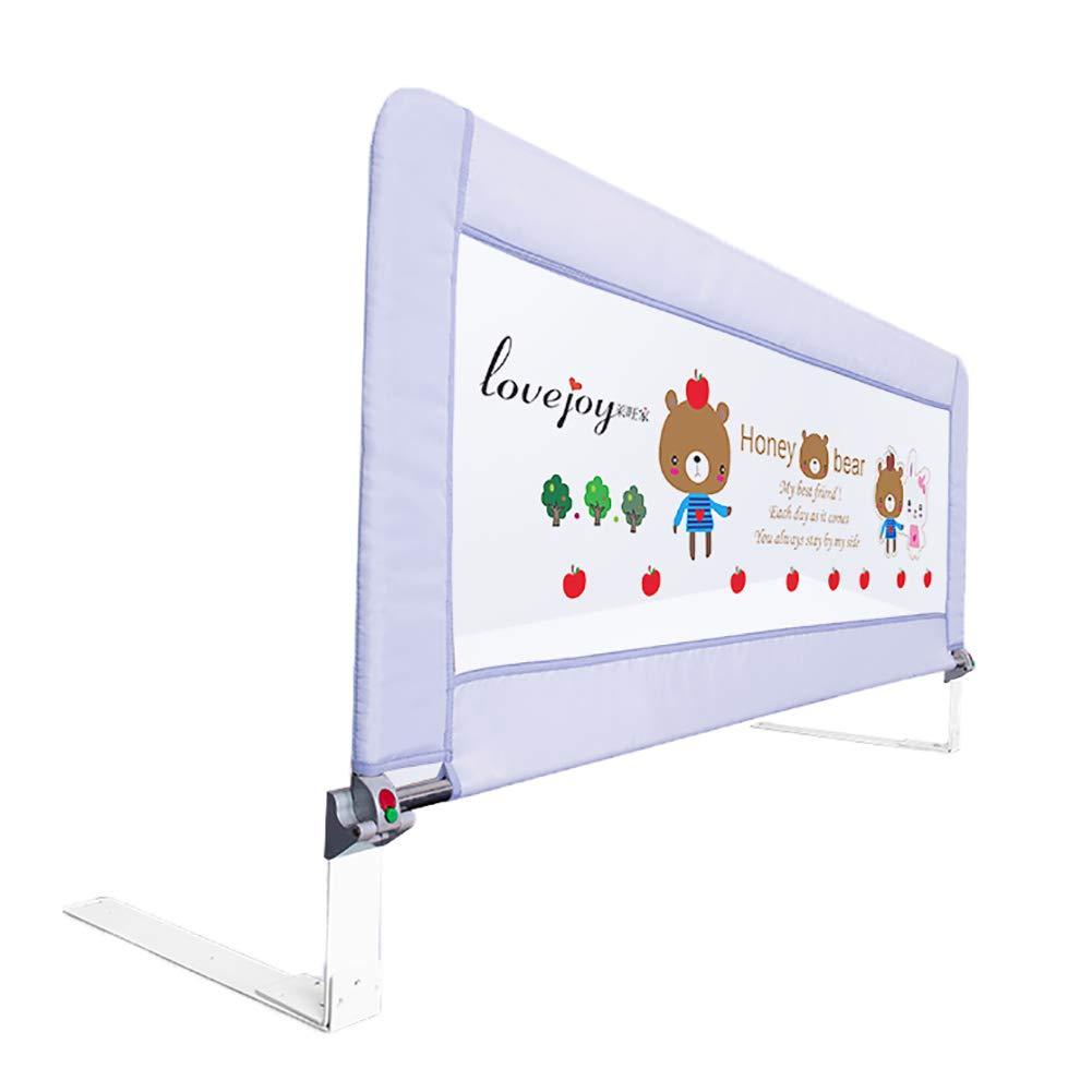 ベッドフェンス- 垂直リフトベビーベッドレール、シングルベビーレールレッドグレイ保護フェンス、幼児用、ワンクリック折りたたみ、0.8-1.2メートルの長さ (サイズ さいず : 120cm length) 120cm length  B07JGX2SFB
