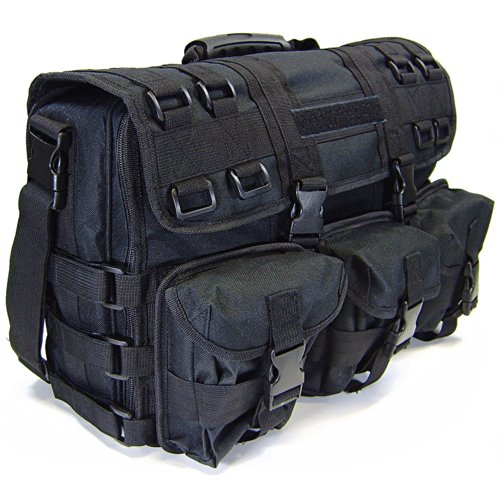 PS Products Special Ops Overnight Or Day Bag with 2 Handgun Holsters
