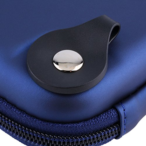 5'' Inch Hard Carrying Travel GPS Case Bag Pouch Protective Shell For 5'' 5.2 Inch Garmin Nuvi 55LM 54LM/54 52LM/52 2597LMT 2577LT 2557LMT 3597LMT TomTom Magellan RoadMate Devices Blue by Teaeshop (Image #7)'