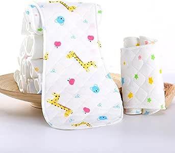 Teabelle - Pañales Reutilizables para pañales de bebé, 3 Capas, algodón: Amazon.es: Hogar