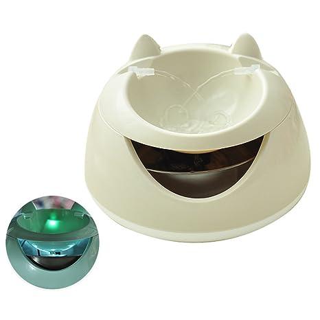 VJDS15 Dispensador De Agua para Mascotas Dispensador De Agua para Gatos Filtro De Circulación Automático Eléctrico