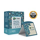 Non-Toxic Insecticide & Odor Free Glue Pantry Moth Traps (18-Pack) - EcoHome USA