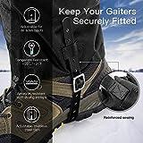 Unigear Zipper Gaiters for Hiking, Waterproof