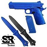 blue gun training - S&R Tactical - Training Gun and Knife Combo Pack 1911 (Combo)