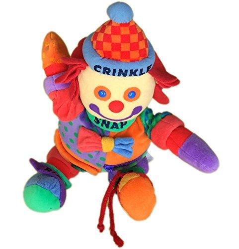 Learn to Dress Gymboree Clown Plush