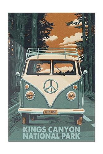 Kings Canyon National Park - Camper Van Letterpress