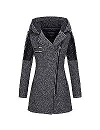 FANOUD Women Warm Slim Thick Parka Overcoat Winter Jacket