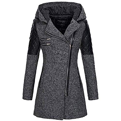- Christmas Deals! Teresamoon Women Warm Slim Jacket Thick Parka Overcoat Winter Outwear Hooded Zipper Coat