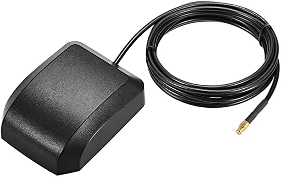 sourcing map GPS Antena Activa MCX Enchufe Macho 34dB Cable ...