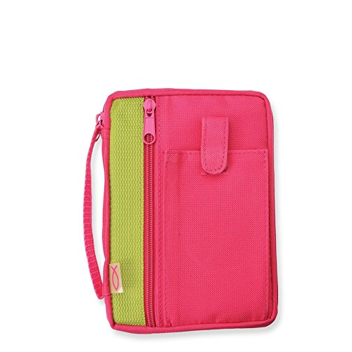 Enesco Faith & Grace by Gregg Gift Fuchsia Fish Detail Microfiber Compact Bible Cover, - Village Mall Hours