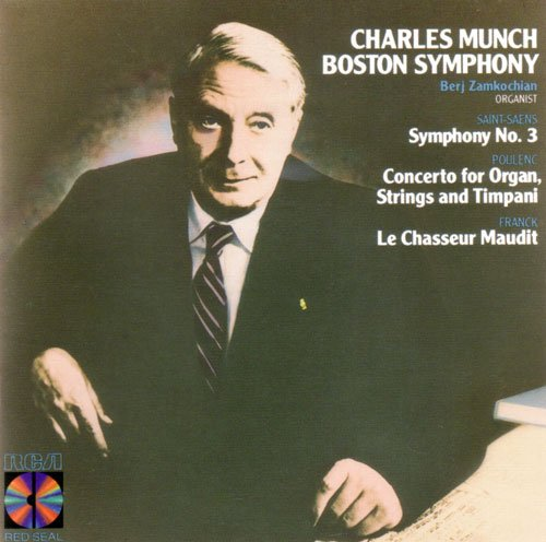 charles-munch-boston-symphony-symphony-no-3-concerto-for-organ-strings-and-timpani-le-chasseur-maudi