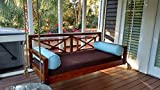 Custom Carolina The Perfect Pawley's Porch Swing, Twin, Light Stain