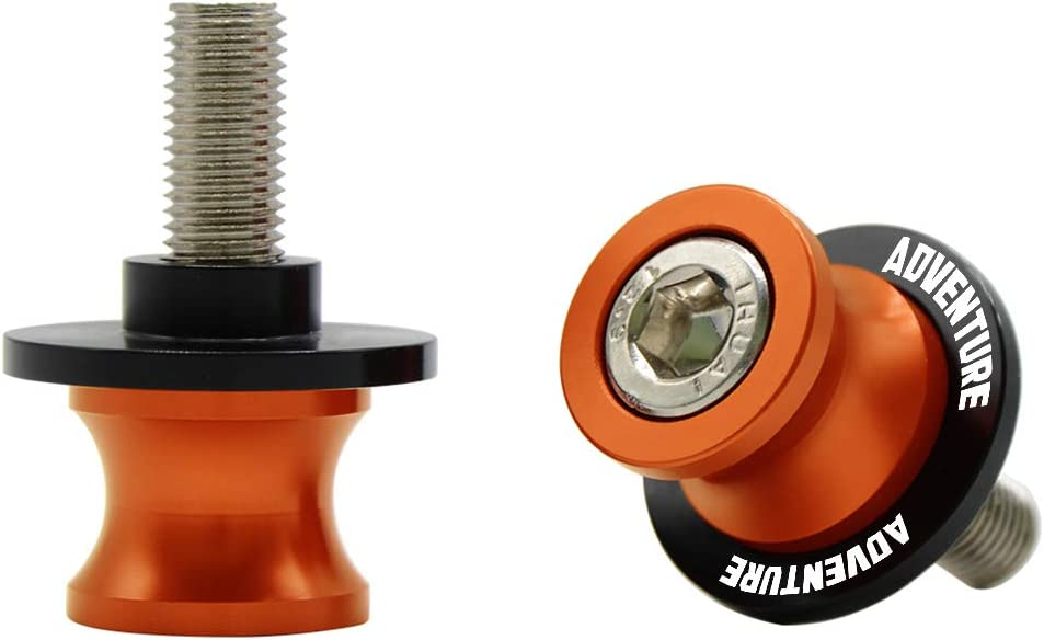 M10*1,5 Nottolini Assen Swingarm Spool Screw per KTM 390 1050 1090 1190 1290 Adventure ADV 1290 Super Adventure R S Arancione