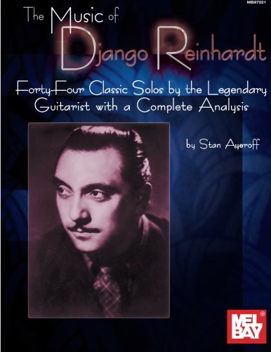 Mel Bay's Music of Django Reinhardt - Django Reinhardt Sheet Music