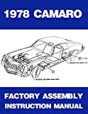 1978 Chevrolet Camaro Assembly Manual Book Rebuild Instructions Illustrations