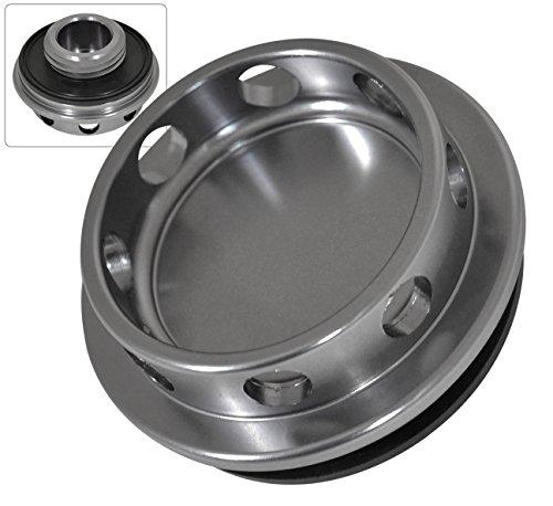 For Nissan Infiniti Aluminum Engine Motor Oil Fuel Fill Cap Valve Cover Gunmetal