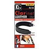 BG C23LP Leather Clarinet Strap with Leather Pad