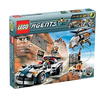 LEGO Agents Turbo-Car Chase by LEGO
