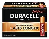 Duracell QU2400BKD09 Quantum Alkaline Batteries, AAA, 144/CT