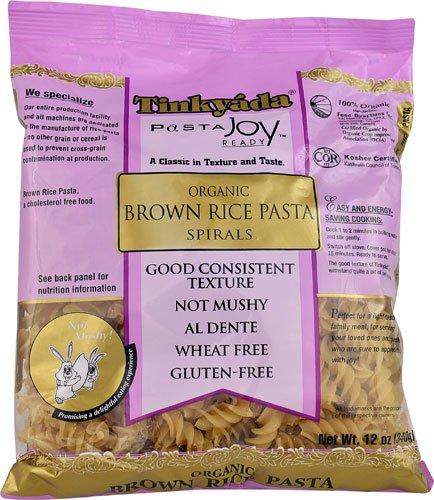 Tinkyada Organic Brown Rice Pasta Spirals Gluten Free -- 12 oz - 2 pc