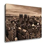 Ashley Canvas, Edinburgh City Rooftop View With Historical Architectures United Kingdom, 20x25, AG5818696