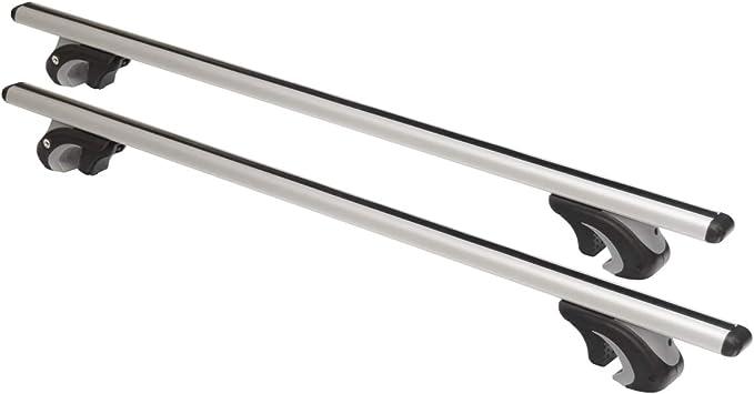Universaler Aluminium Dachträger An Offene Dachrelinge 120 Cm T Nut 20 Mm Hochwertig Auto
