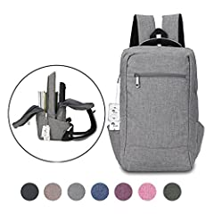 Pack your laptop, tablet, books, and other essentials for the daily commute inside this large travel laptop backpack from The Winblo. This laptop backpack has an extra-large shape and includes a roomy main compartment with a padded laptop sle...