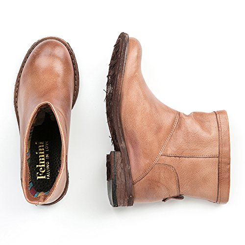 en Cuir 9037 Bottes Tomber Femme Gredo avec Felmini Genuine amour Multicolore Chaussures Classiques 4Pw6gRqt