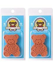 Brown Sugar Bear Harold Import Co Original Sugar Saver and Softener, Terracotta, Set of 2