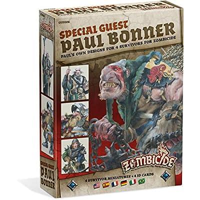 Zombicide Special Guest Paul Bonner, 4 Survivors: Toys & Games